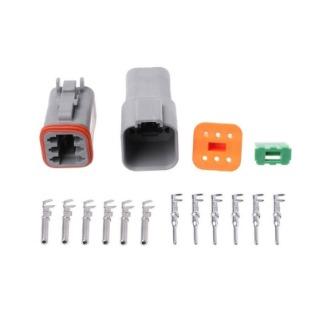 DT066S-P004 Deutsch DT 6-Way Plug
