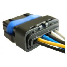 6 Pin Connector Plug Valve Oil Pump Waterproof For Peugeot Citroen Renault