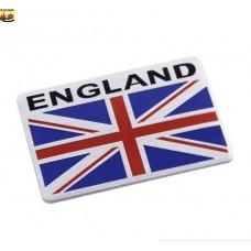 England UK GB Flag Union Jack Car Emblem Badge Sticker Logo Chrome 3D