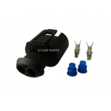 2 PIN 2 Way Waterproof Electrical Connector Plug For Skoda VW Audi 357973202