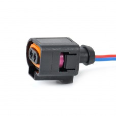 2 Pin Connector Plug Wiring Electrical Harness For VW Audi Skoda Seat 1J0973722